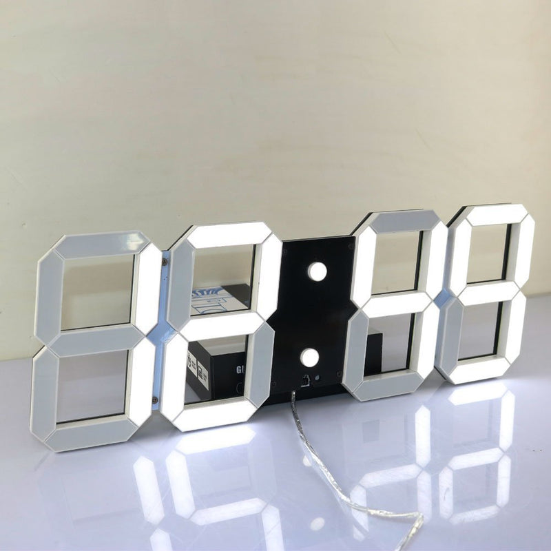 Multi-use Led Digital Large Countdown Stopwatch Temperature Wall Clock