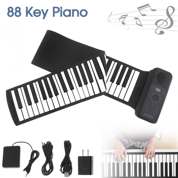 Portable Hand Roll Up Piano