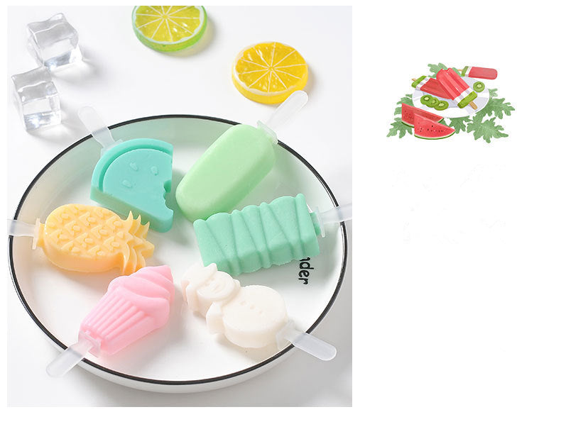DIY Fun & Creative Ice Pop Molds