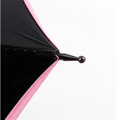 Folding Umbrella with Built-in Fan and USB Long Handle Design