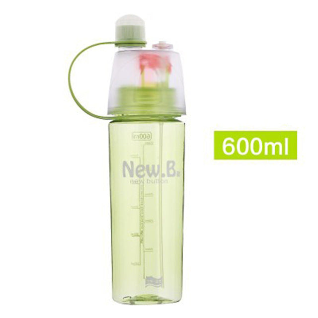 Sports Water Bottle With Mister