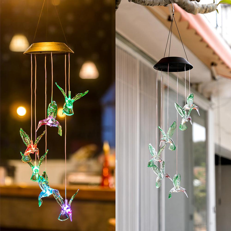 LED Solar Powered Humming Bird Lights
