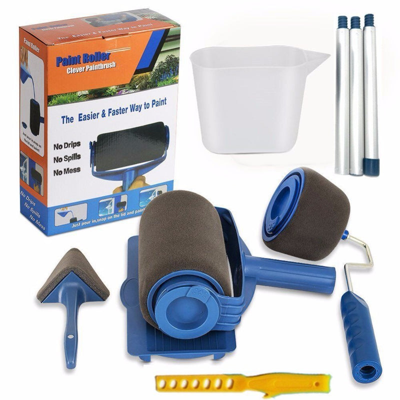 Paint Roller 8 Piece Kit