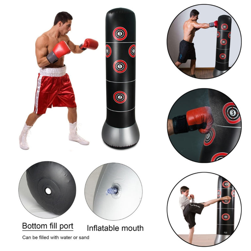 Inflatable Punching Bag Boxing Standing Water Base