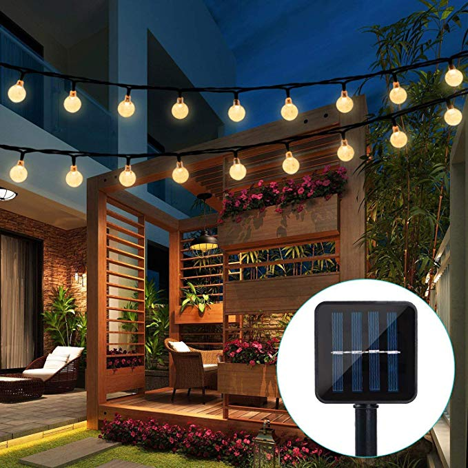 20/50 LED Crystal Ball 5M/10M Solar Lamp