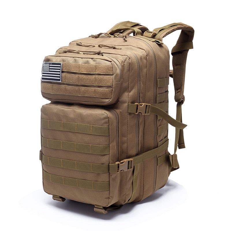 40L Waterproof Survival Military Tactical Backpack