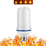 LED Flame Light Bulb Effect