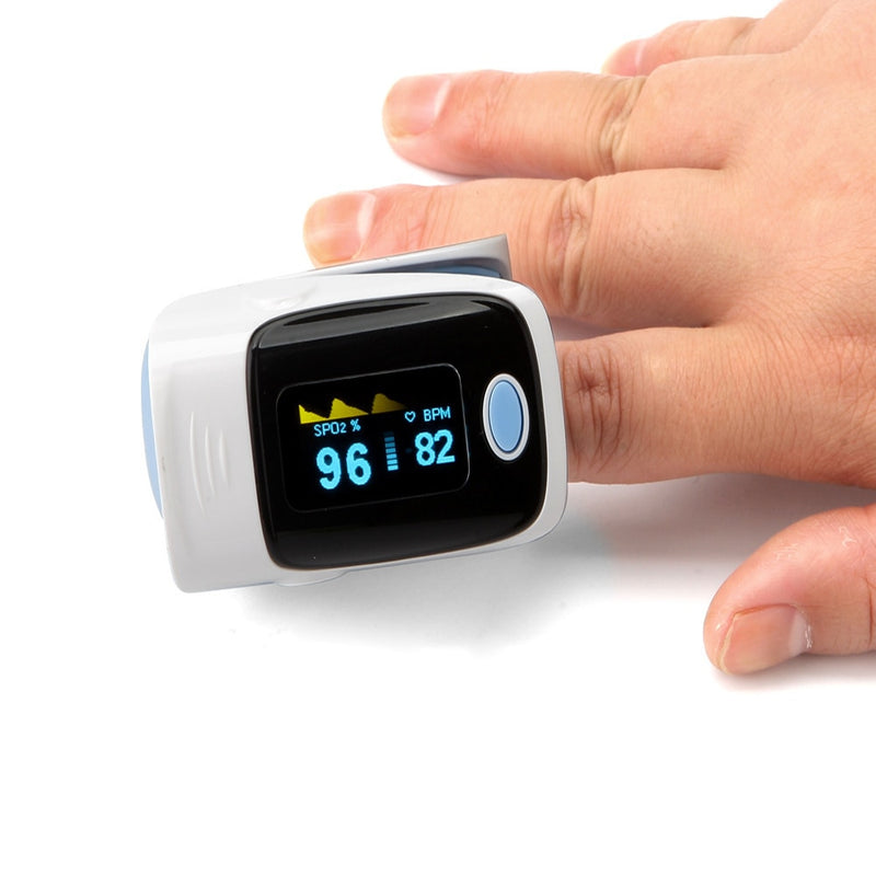 Finger Pulse Oximeter - Upgraded Pulse Rate Tracker