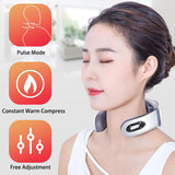 U Shaped Electric Pulse Neck Massage Pain Reliever