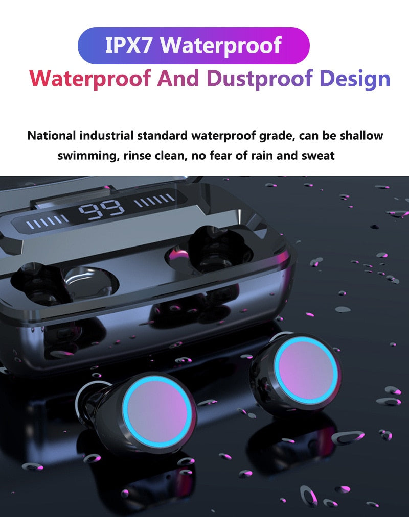 HIFI WATERPROOF TOUCH CONTROL HEADSET