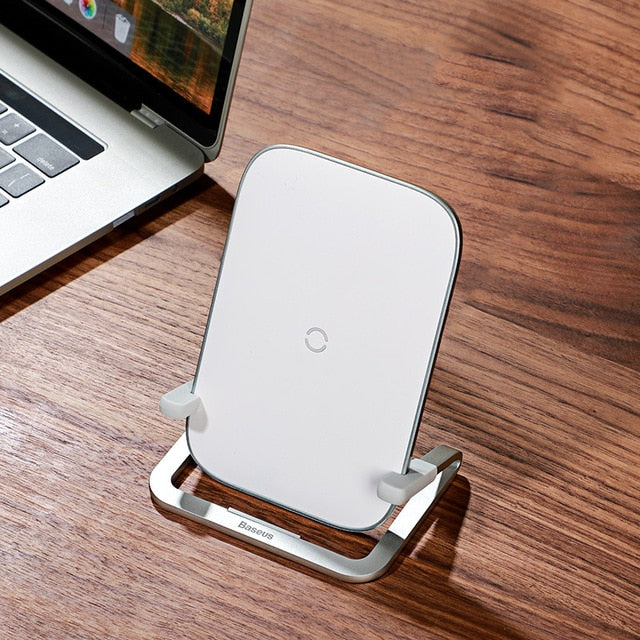 Horizontal and Vertical Wireless Charger & Phone Holder