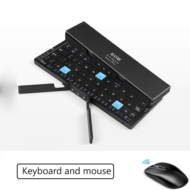 Ultra-Slim Mini Fordable Keyboard for Phones/Tablets