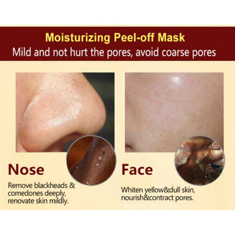 Herbal Beauty Peel Off Mask Skin Care Deep Cleansing Blackhead Remover