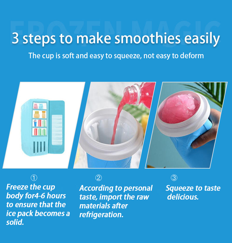 Quick-Frozen Smoothie Cup