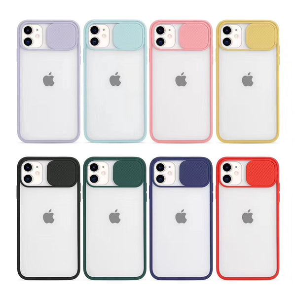 Sliding Cover For Camera Protection of iPhone Cases