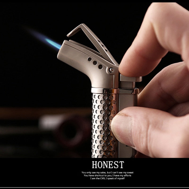 Stainless Steel Wind Proof Torch Lighter