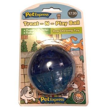 Treat-N-Play Ball