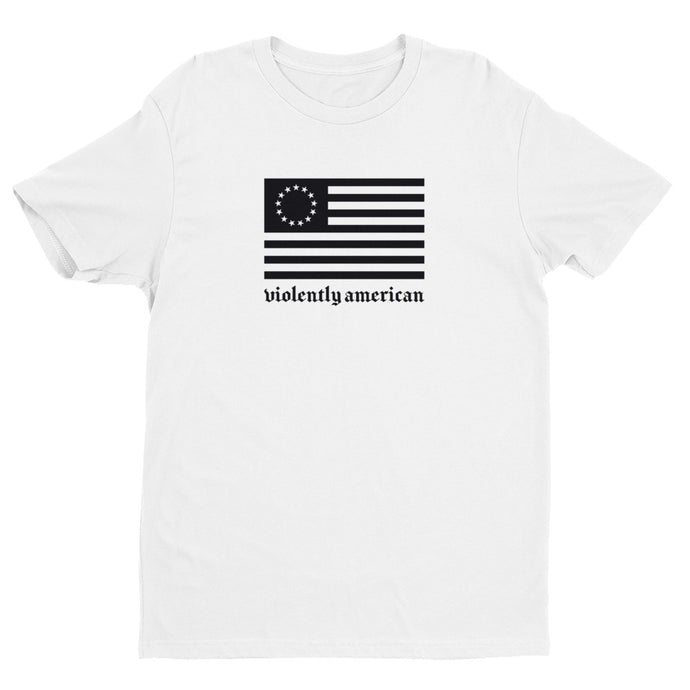 Violently Betsy White Premium Short Sleeve T-shirt | NoQuarter.us