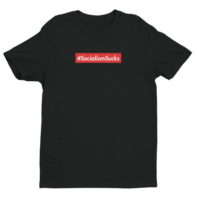 Socialism Sucks Premium Short Sleeve T-shirt | NoQuarter.us