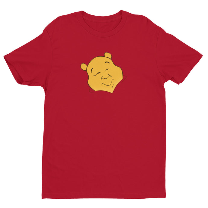 Xi Jinpooh Red Premium Short Sleeve T-shirt | NoQuarter.us