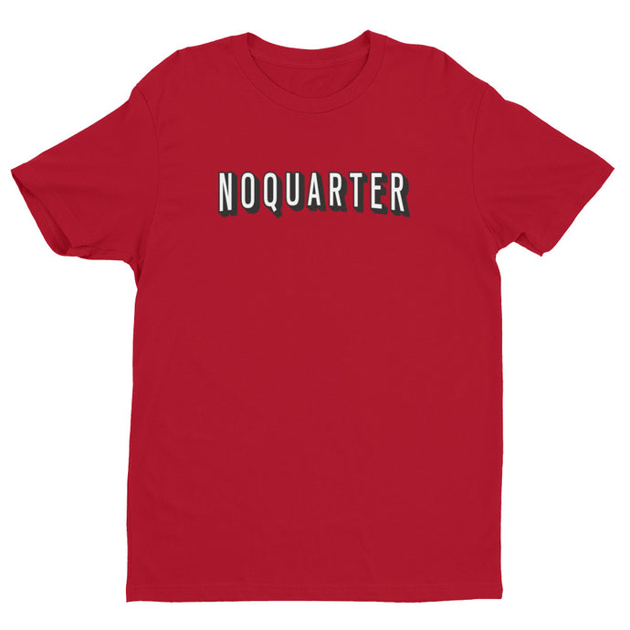 No Quarter Red Premium Short Sleeve T-shirt | NoQuarter.us