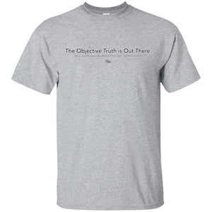CustomCat Apparel G200 Gildan Ultra Cotton T-Shirt / Sport Grey / S xfiles objective truth merged and stroked Men's Basic Tee-Shirt