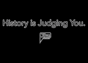 CustomCat Apparel history is judging merged and stroked Women's Tank Top