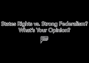 CustomCat Apparel States Rights vs. Strong Federalism? What's Your Opinion?