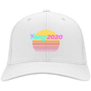 CustomCat Hats White / One Size Yang 2020 CP80 Port & Co. Twill Cap