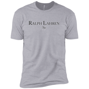 CustomCat T-Shirts Heather Grey / S ralph lahren Men's Premium Cotton Tee-Shirt