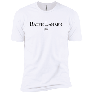 CustomCat T-Shirts White / S ralph lahren Men's Premium Cotton Tee-Shirt