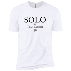 CustomCat T-Shirts White / S solo by tomi lahren Men's Premium Cotton Tee-Shirt