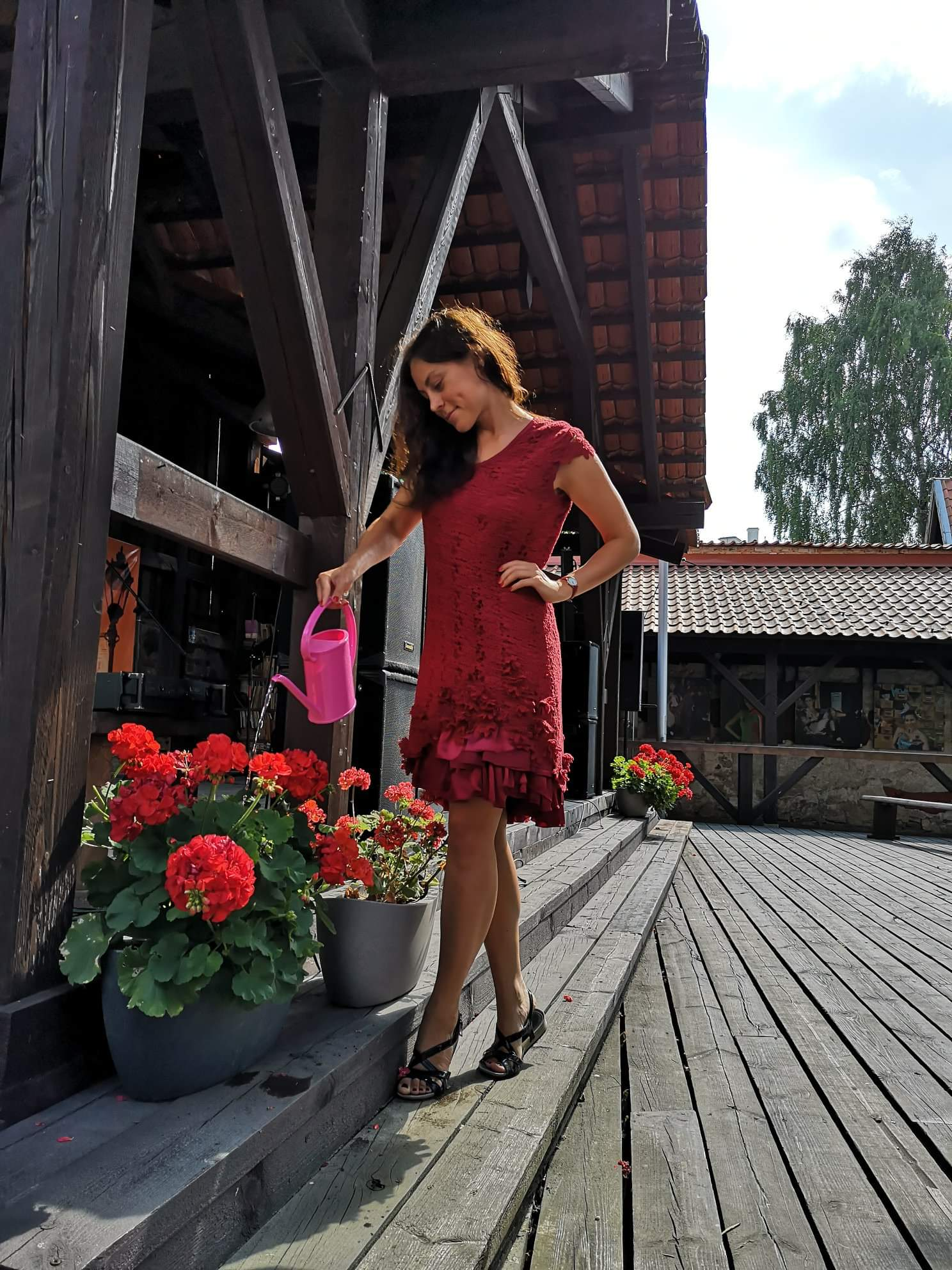 Magic Monday Red dress (was 325€)