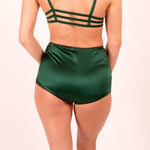 Diana: Silk Satin High Waist Panties, Briefs. 19 Colors