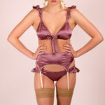 Venus: Silk Lingerie Set in 19 Colors (bra and panties)
