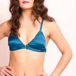 Athena: Silk Satin Soft Cup Bra. 19 colors
