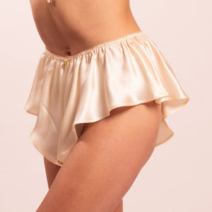 Thalia bias cut silk satin panties. 8 colors to choose from
