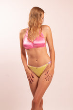 Silk lingerie set: Maia bra and Maia panties. 20 colors to choose from