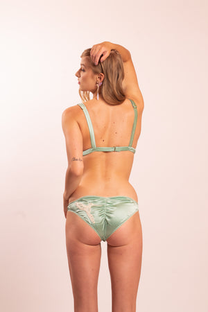 Dione Silk Satin panties. Choose from 4 different colors.