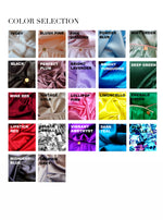 Selene: High Rise Silk Satin Panties. 20 Colors