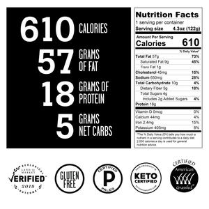 PALEO & KETO MEALS - 6CT
