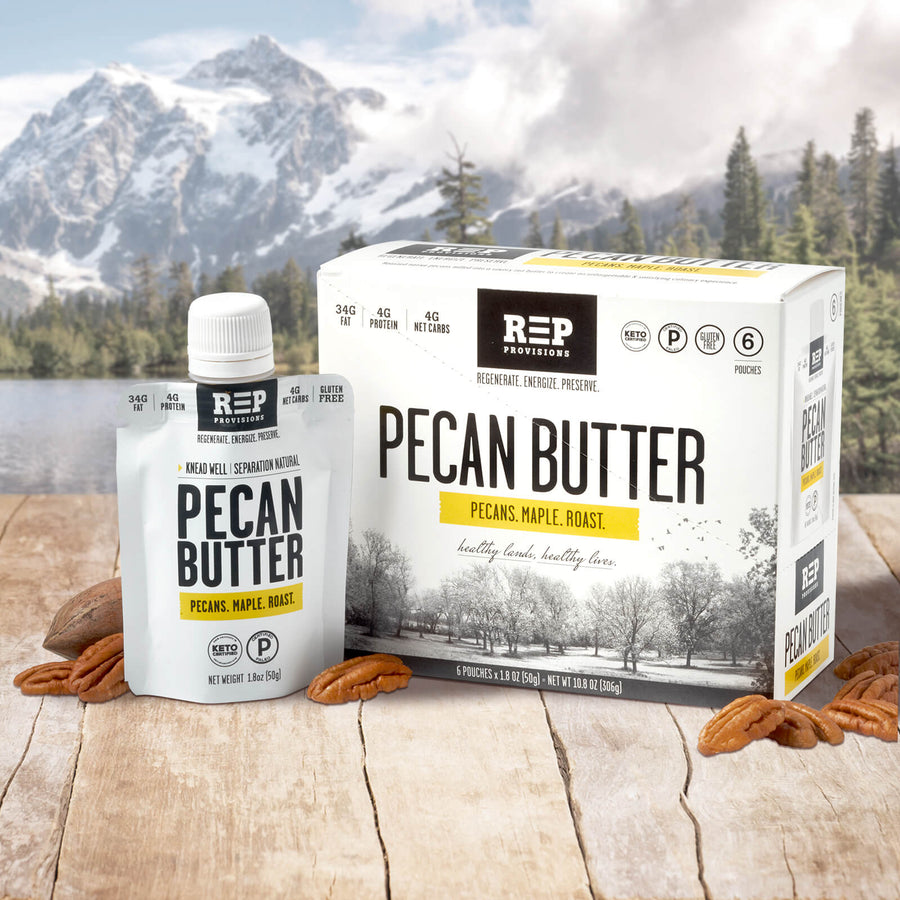 PECAN BUTTER POUCHES (1.8oz) - 6CT