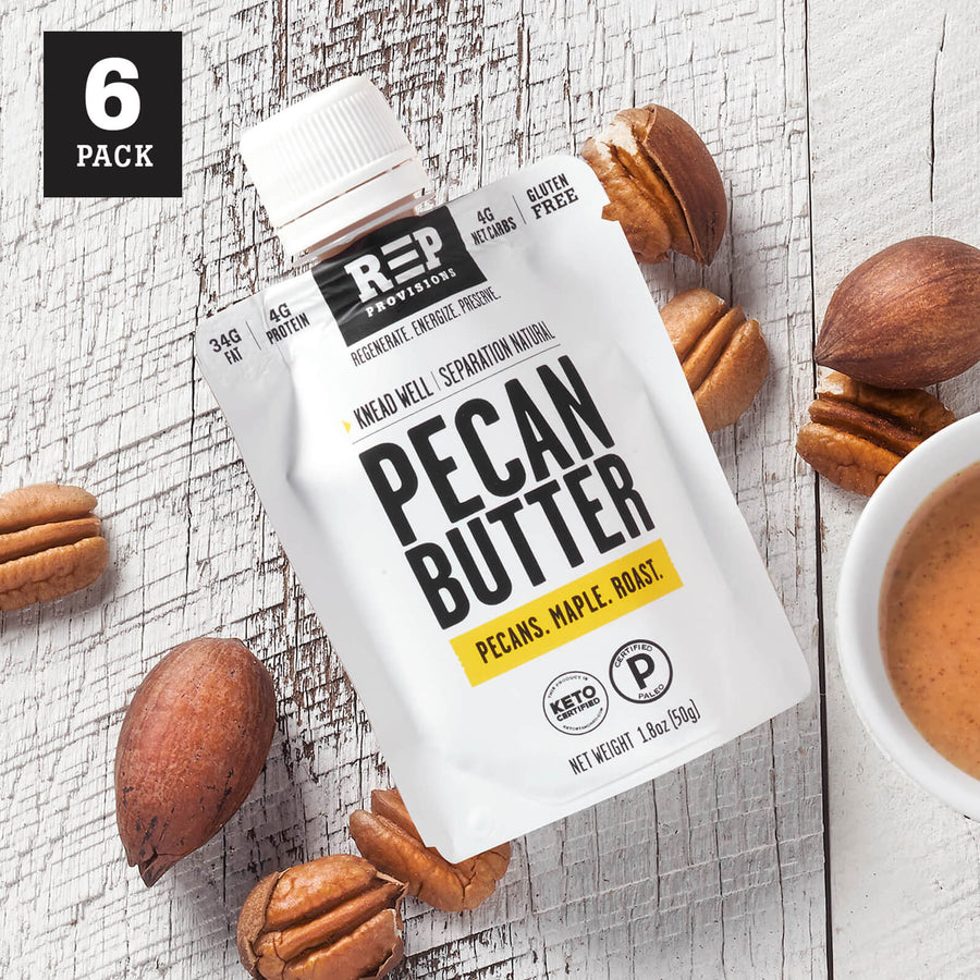 PECAN BUTTER POUCHES 1.8oz (6-PACK)
