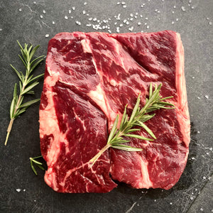 Regenerative Beef. Grass-fed Chuck Steak. Kiss the Ground type farms. REP Provisions - The Regenerative Company.