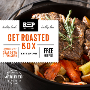 Regenerative Grass-fed Beef Roast Box from Small Family Farms, REP Provisions - The Regenerative Company.