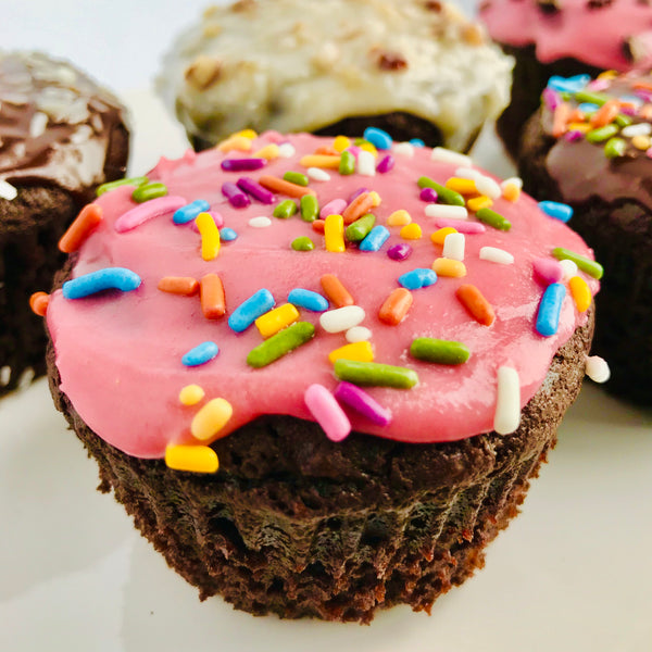 Cupcakes with Regular Icing