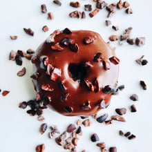 Load image into Gallery viewer, Chocolate Cacao Nib Donut