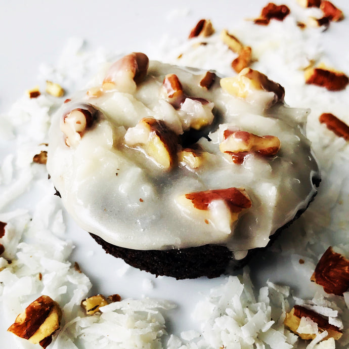 German Chocolate Cake Donut Mix