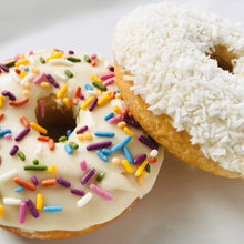 Load image into Gallery viewer, Lemon Coconut/Lemon Sprinkle Combo Donut Mix