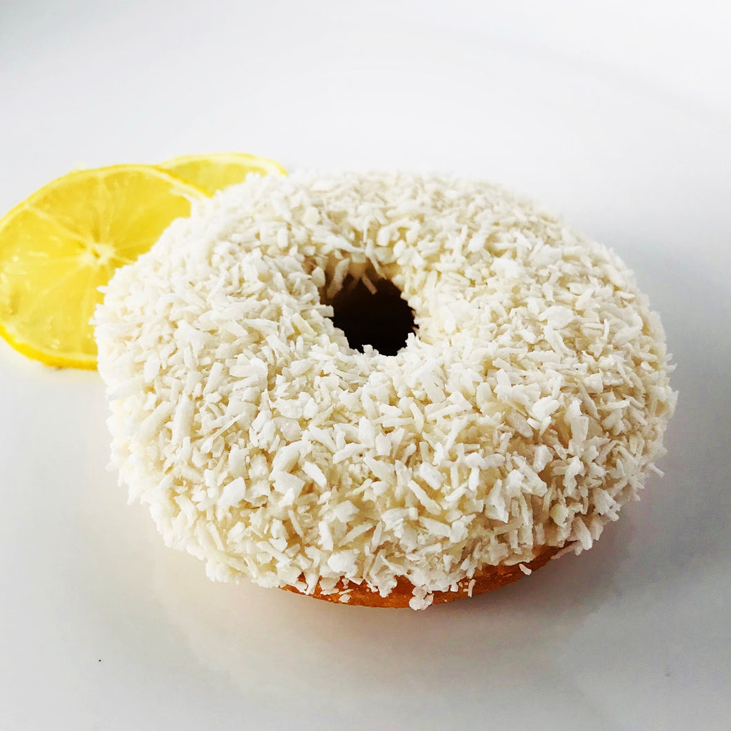 Lemon Coconut Donut